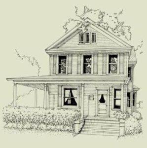 Colonial Revival Sketch