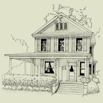 Colonial Revival Sketch