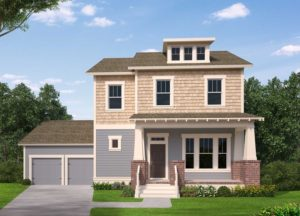 3D Model. Front Exterior style 1