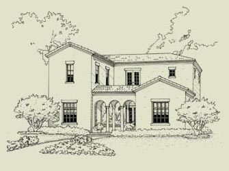 Spanish Colonial Sketch